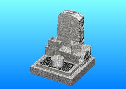 フルオーダー・側面「ノミ切り仕上げ」のお墓