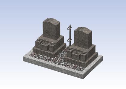 宗教の違うご夫婦のお墓