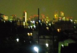 苑内からの夜景